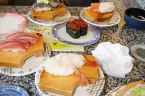 食事回転寿司