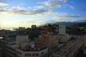 オーセントホテルから小樽